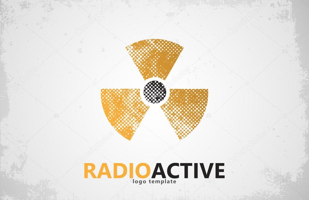 Nuclear Logo Radioactive Logo Design Radiation Symbol Stock
