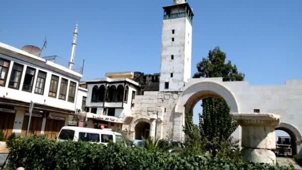 Damašek, Sýrie, září 2013: Vstup do historické části starého Damašku