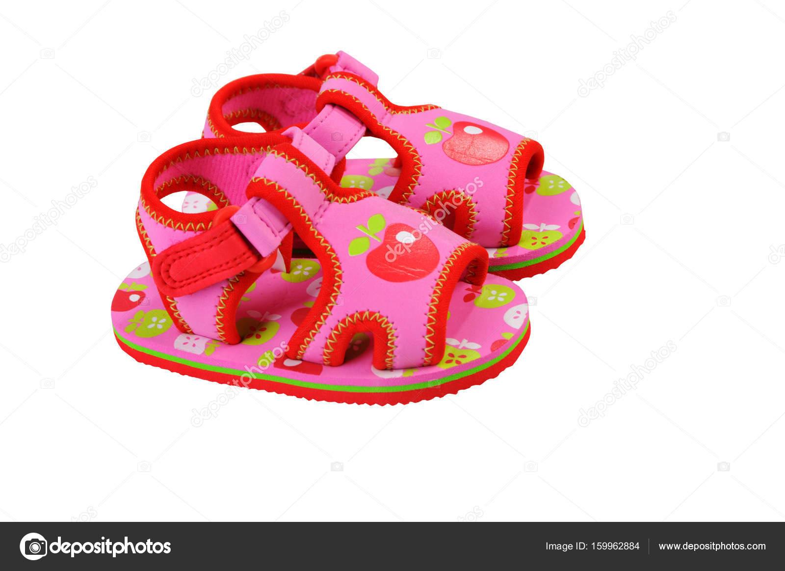 c67987b25ee Μωρουδιακά Παπούτσια. Σανδάλια για μωρά — Φωτογραφία Αρχείου · Πέδιλα Ροζ  baby.