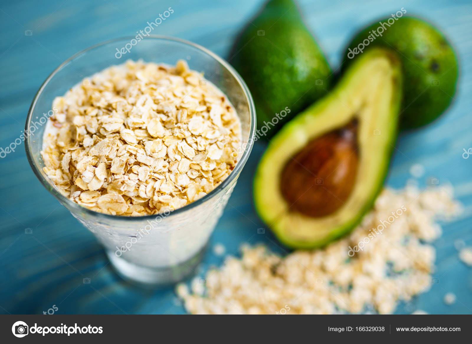 Zdrowe Jedzenie Dietetyczne Sniadanie Lub Przekaske Zielone
