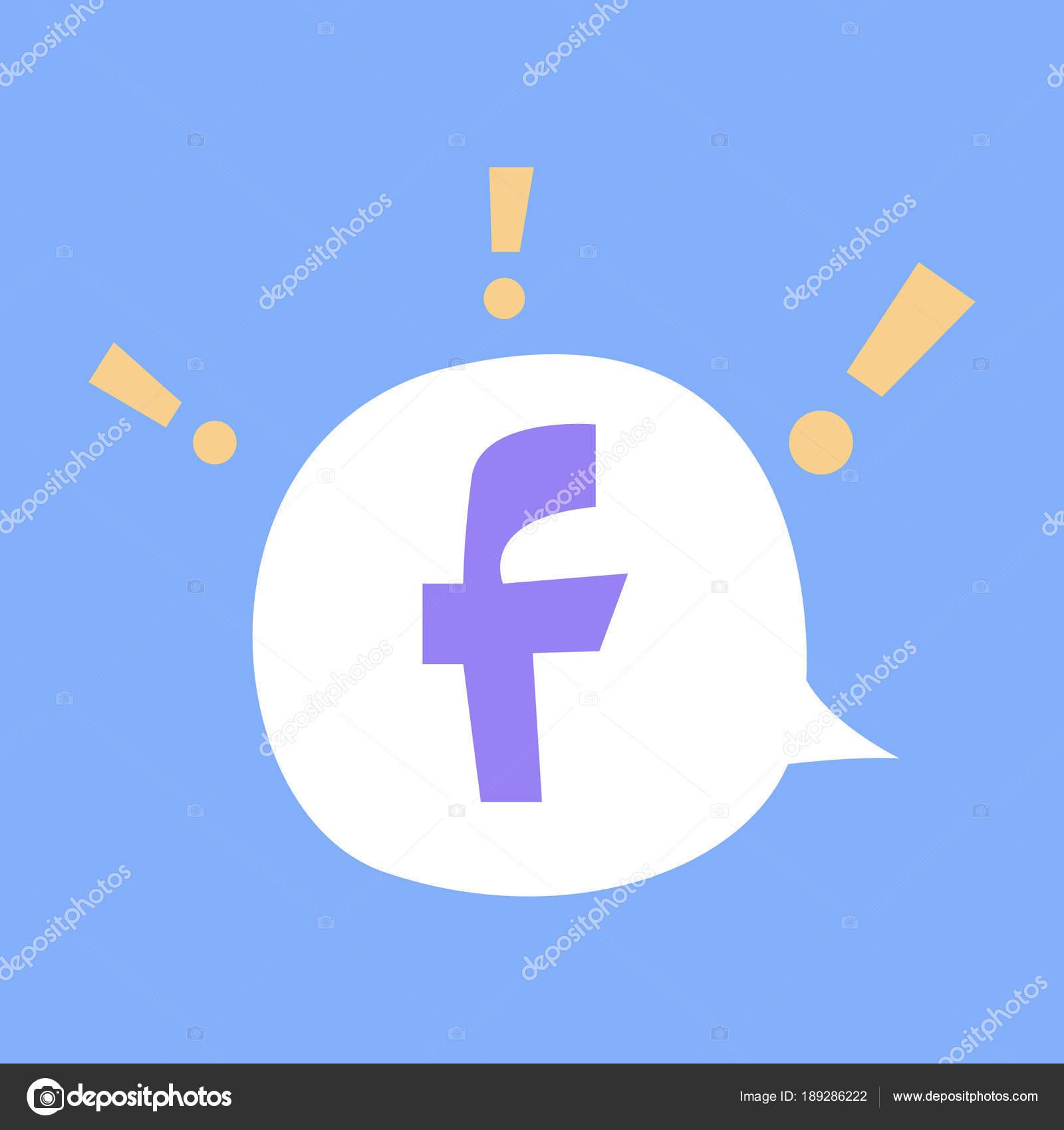facebook icon image vector