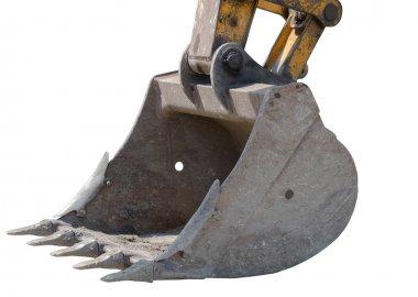 yellow excavator machines