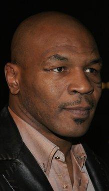 Boxer Mike Tyson