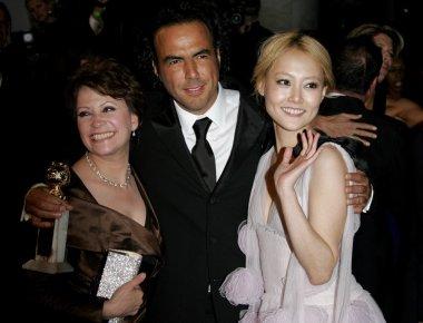 Alejandro Gonzalez Inarritu, Adriana Barraza and Rinko Kikuchi