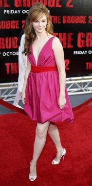 Actress Amber Tamblyn