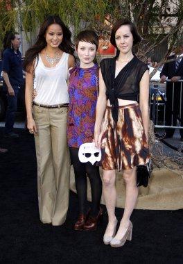 Jamie Chung, Emily Browning, Jena Malone