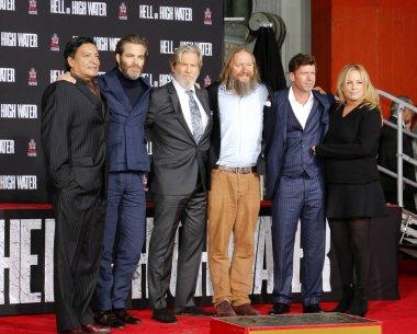 Chris Pine and David Mackenzie, Jeff Bridges and Taylor Sheridan