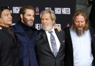 Chris Pine and David Mackenzie and Jeff Bridges