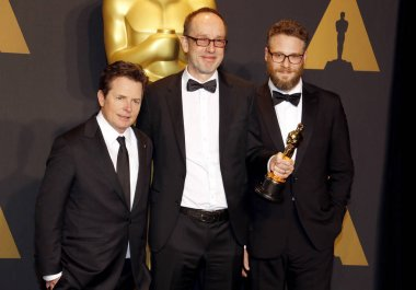 John Gilbert, Seth Rogen and Michael J. Fox