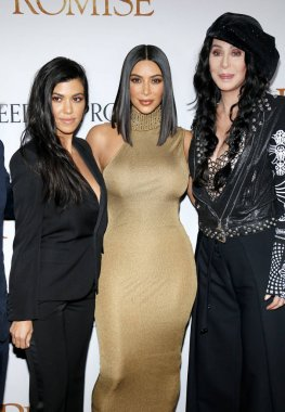 Kim Kardashian West, Cher and Kourtney Kardashian