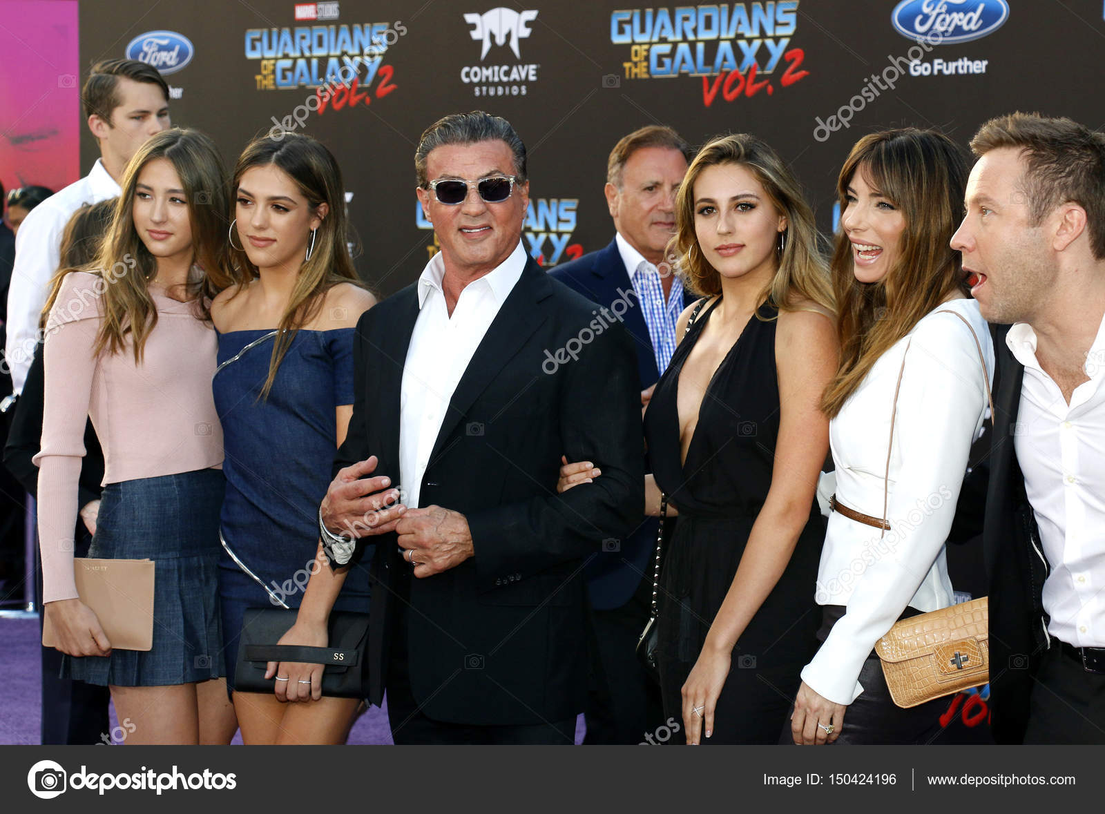 Sylvester Stallone and family - Stock Editorial Photo ...