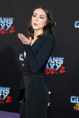 Actress Chloe Bennet