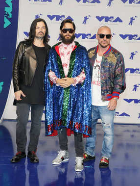 Jared Leto, Shannon Leto and Tomo Milicevic