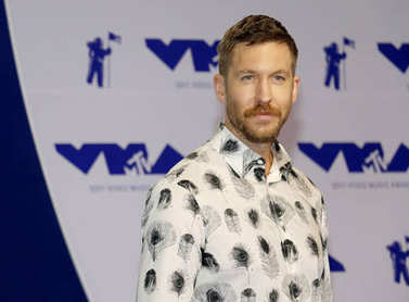music producer Calvin Harris
