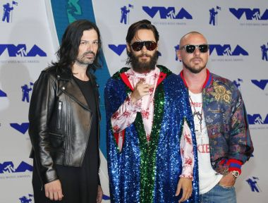 rock band Thirty Seconds to Mars