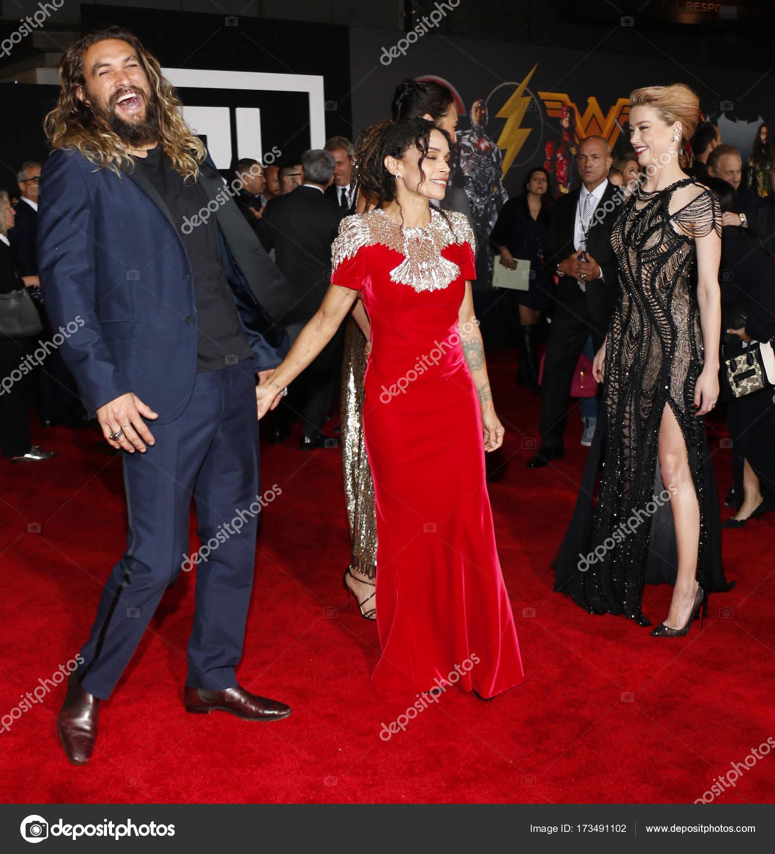 Jason Momoa And Lisa Bonet Had Secret Wedding: Attori Jason Momoa, Lisa Bonet E Amber Heard