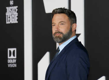 actor Ben Affleck at the World premiere of 'Justice League' held at the Dolby Theatre in Hollywood, USA on November 13, 2017.