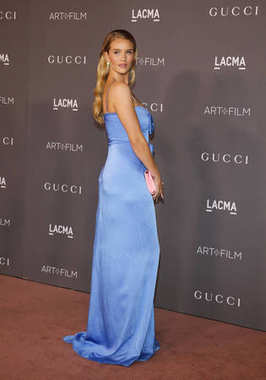 model Rosie Huntington-Whiteley at the 2017 LACMA Art + Film Gala held at the LACMA in Los Angeles, USA on November 4, 2017.