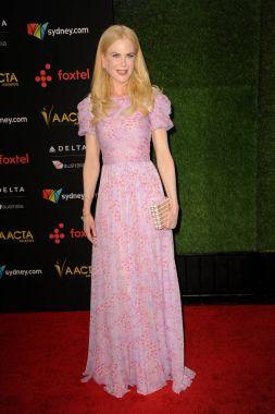 actress Nicole Kidman at 7th AACTA International Awards held at the Avalon in Hollywood, USA on January 5, 2018.