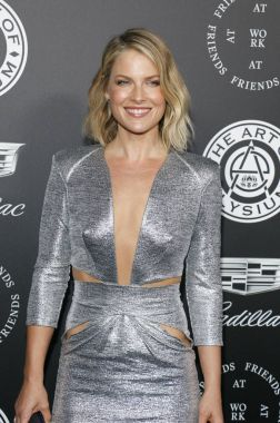 actress Ali Larter at the Art Of Elysium's 11th Annual Heaven Celebration held at the Barker Hangar in Santa Monica, USA on January 6, 2018.