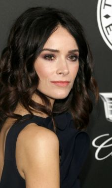 actress Abigail Spencer at the Art Of Elysium's 11th Annual Heaven Celebration held at the Barker Hangar in Santa Monica, USA on January 6, 2018.