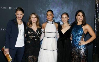 Tuva Novotny, Jennifer Jason Leigh, Tessa Thompson, Natalie Portman and Gina Rodriguez