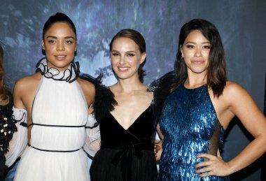 Tessa Thompson, Natalie Portman and Gina Rodriguez