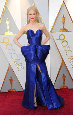 actress Nicole Kidman at the 90th Annual Academy Awards held at the Dolby Theatre in Hollywood, USA on March 4, 2018.