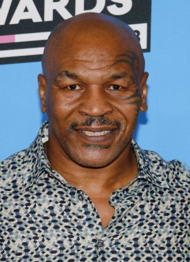 athlete Mike Tyson at the Nickelodeon's 2018 Kids' Choice Awards held at the Forum in Inglewood, USA on March 24, 2018.