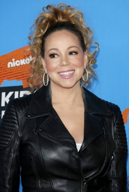singer Mariah Carey at the Nickelodeon's 2018 Kids' Choice Awards held at the Forum in Inglewood, USA on March 24, 2018.