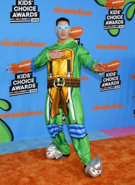 actor John Cena at the Nickelodeon's 2018 Kids' Choice Awards held at the Forum in Inglewood, USA on March 24, 2018.