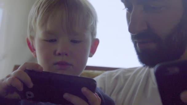 С племянником видео