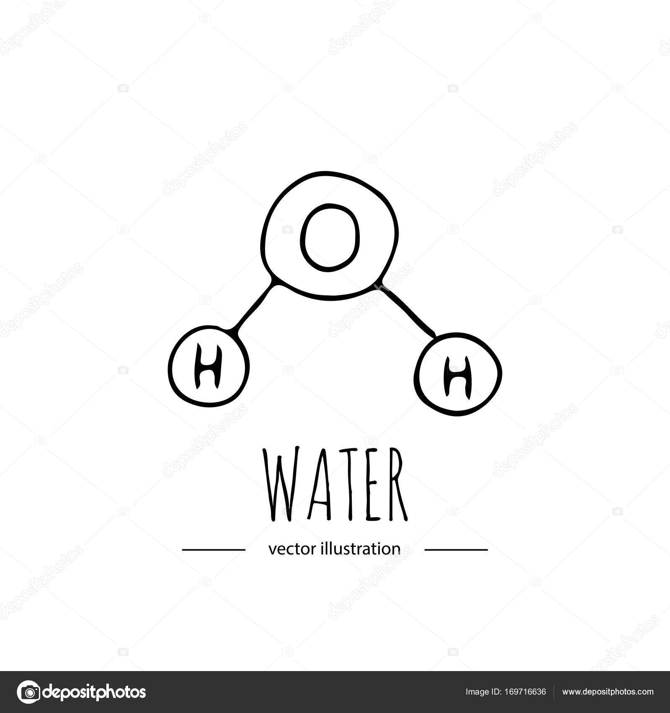 Chemical Molecule Icon Stock Vector Natashapankina 169716636