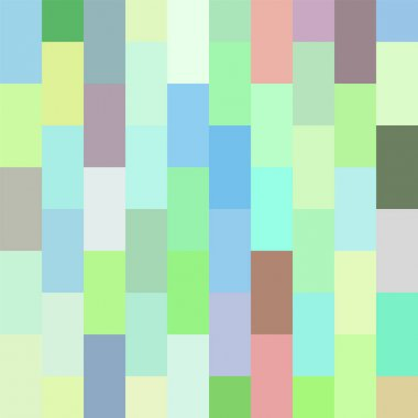 Seamless pattern. Geometrical square background. Pixel art style.Vector tile.Abstract illustration.