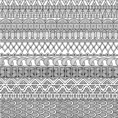 Zendoodle design of background for adult coloring book and wallpaper