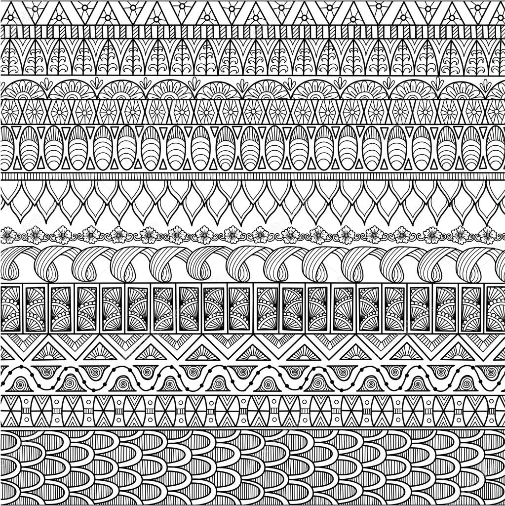 Zendoodle Design Of Background For Adult Coloring Book And Wallpaper Stock Vector 126076030