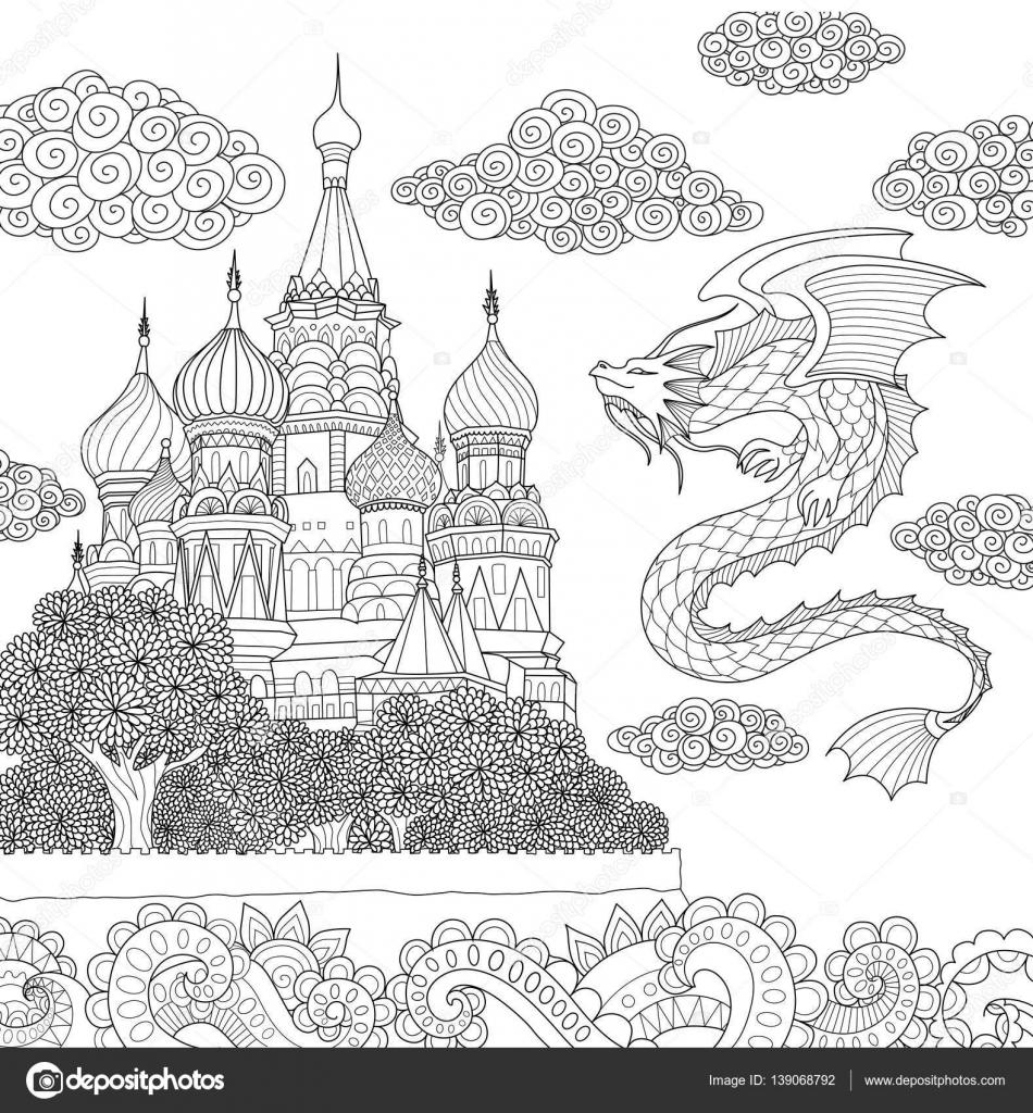 Increíble Colorear Dragon Volador Galería - Ideas Para Colorear ...