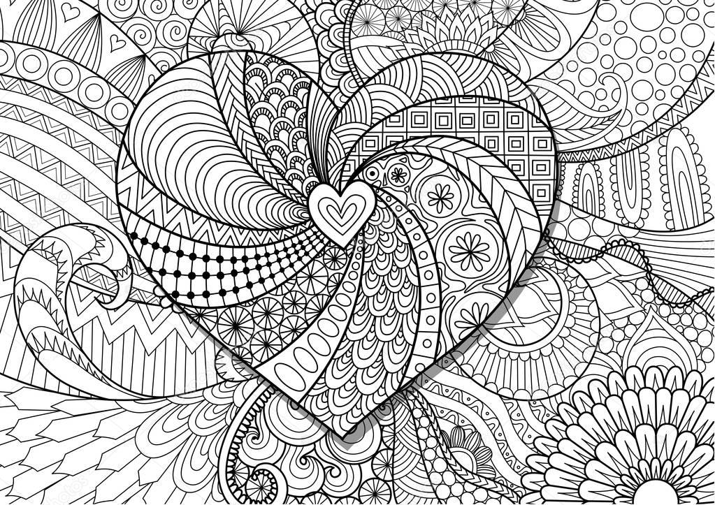 Zentangle Stylized Peacock Related Searches Ethnic Floral Retro Doodle Background Pattern