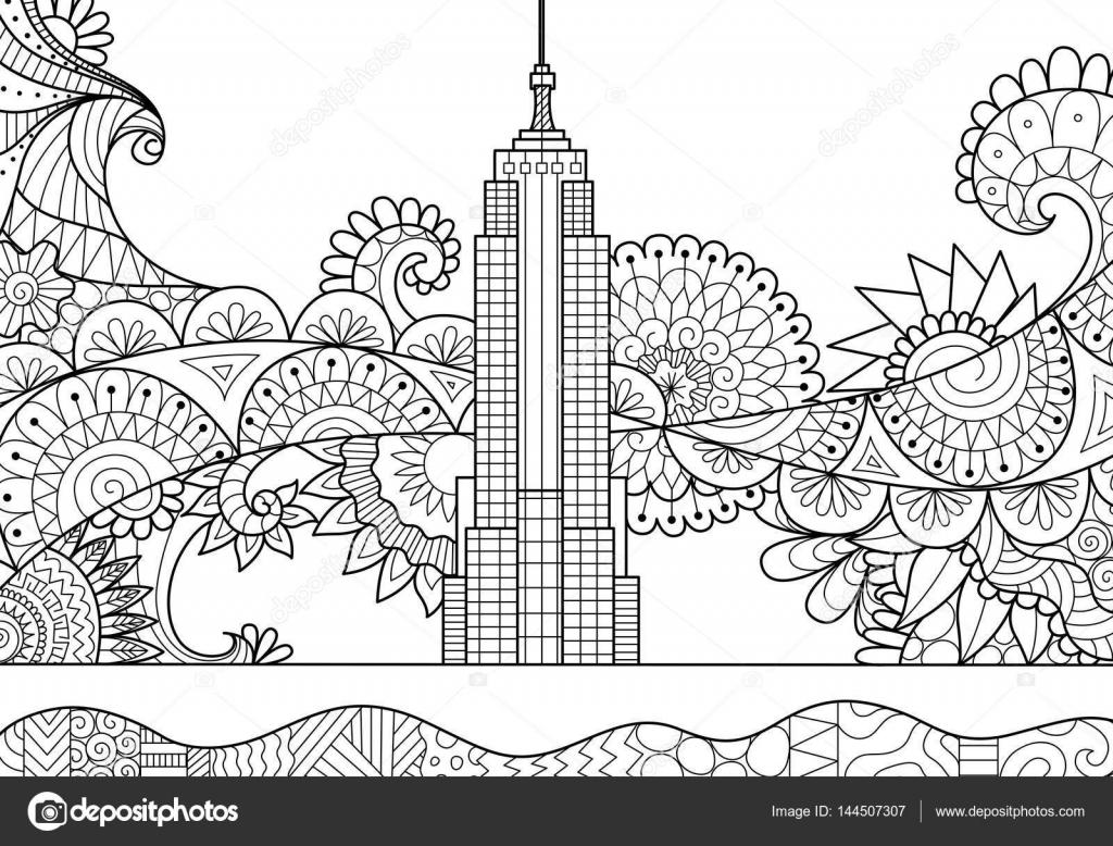 Bahar Ayında New York City Stok Vektör Somjaicindy At Gmailcom