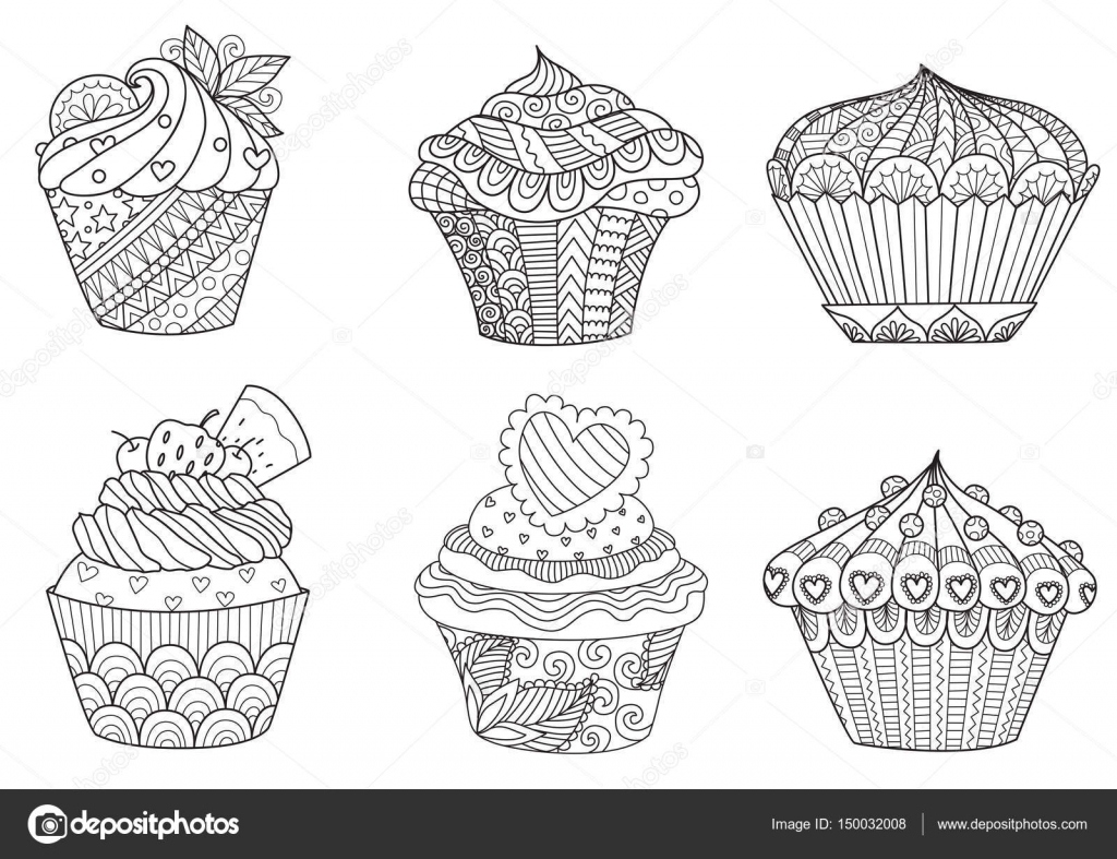 Zendoodle Coloring Book Pages