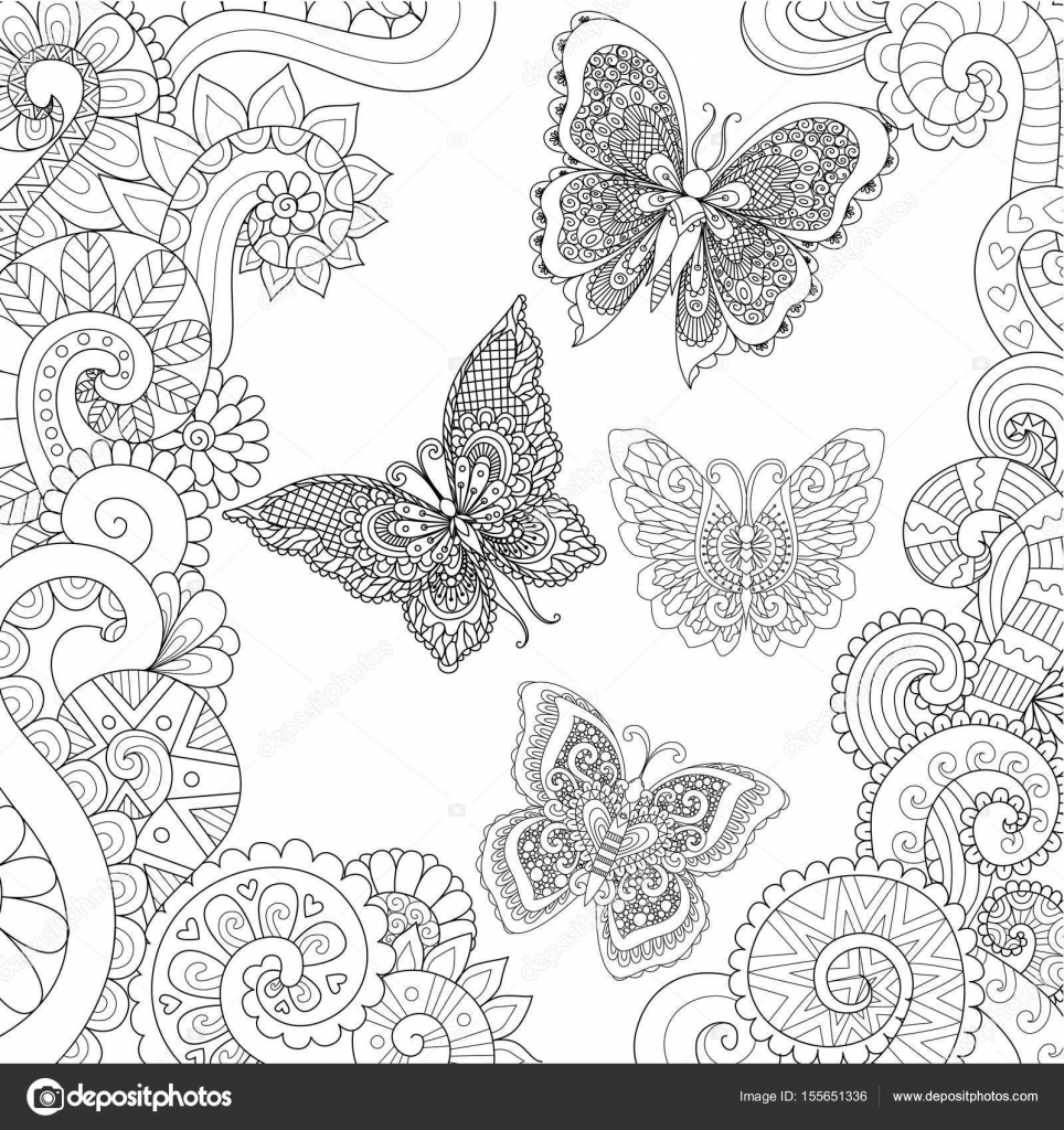 Inspirerend Kleurplaten Voor Volwassenen Van Vlinders