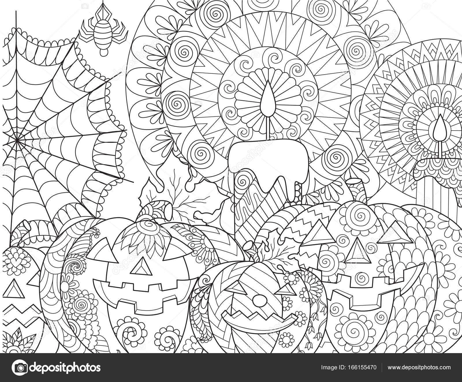 Halloween Kabak Boyama Stok Vektör Somjaicindy At Gmailcom 166155470