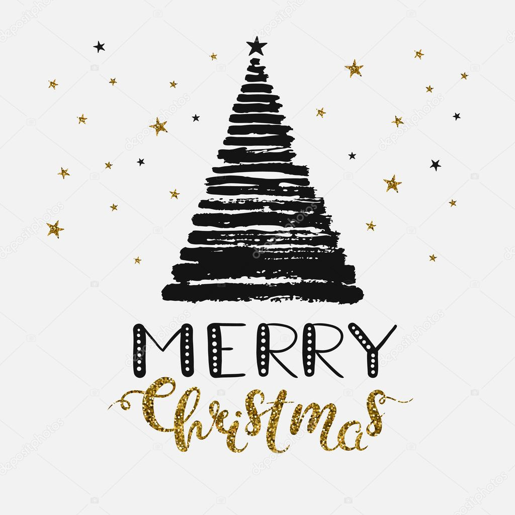 modern Christmas card — Stock Vector © harmonia_green #127291100