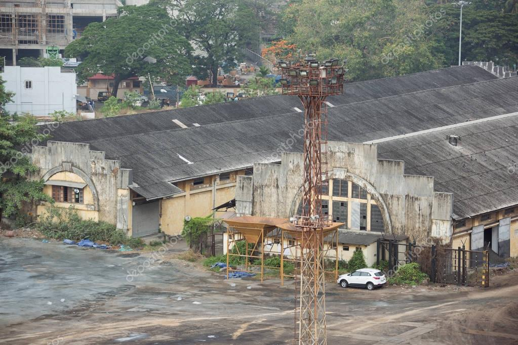 Warehouse in the port of Cochin
