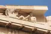 Fotografia Sculture in dettaglio nel frontone del Partenone