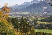 Fotografie Ankunft in Brannenburg aus Wendelstein