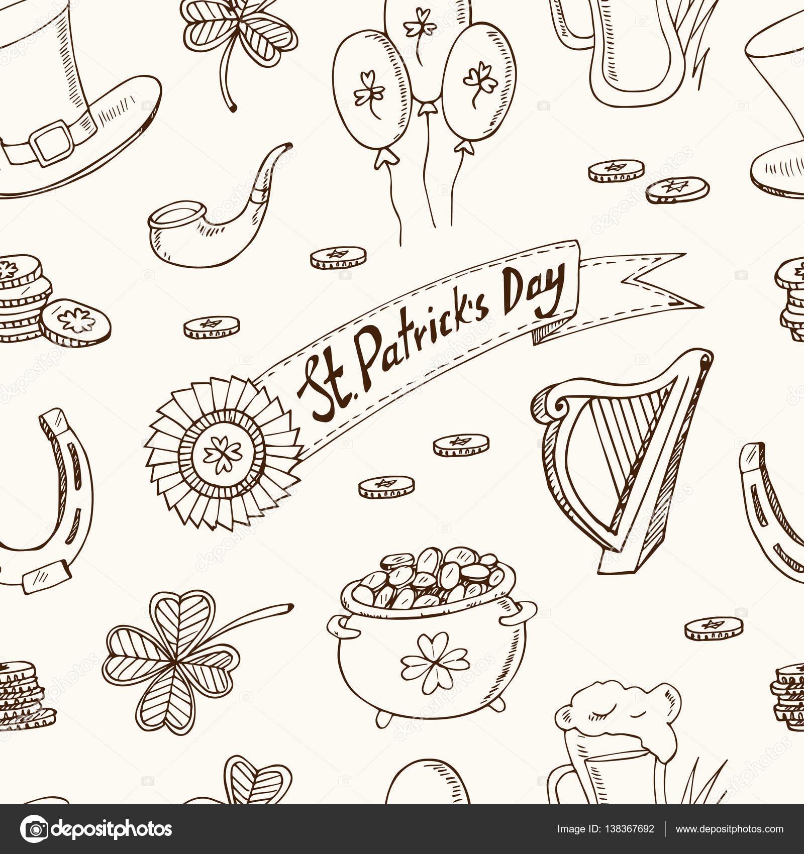 Ausgezeichnet St. Patricks Day Klee Malvorlagen Ideen - Malvorlagen ...