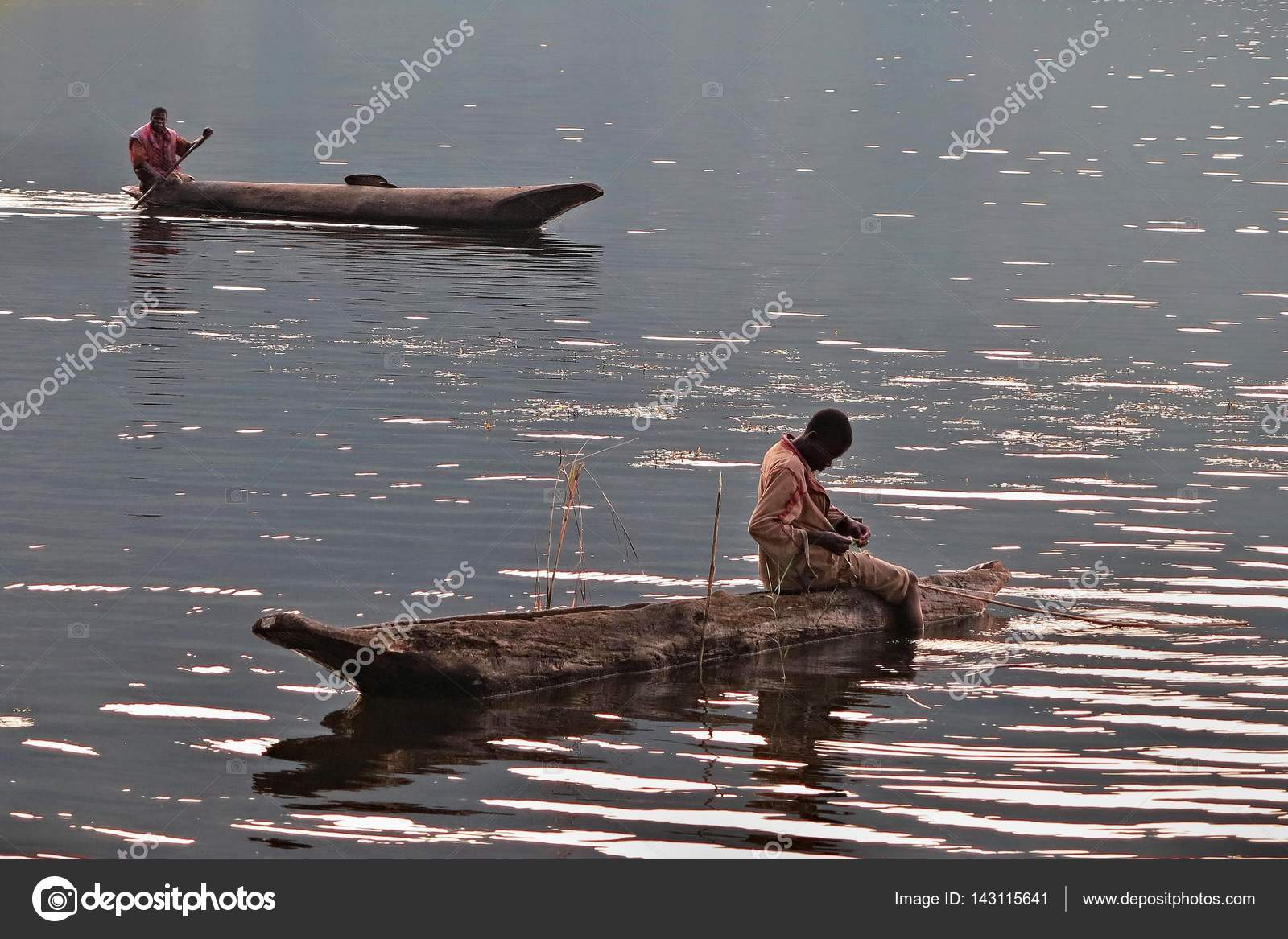 People fishing on congo river stock editorial photo for Videos of people fishing