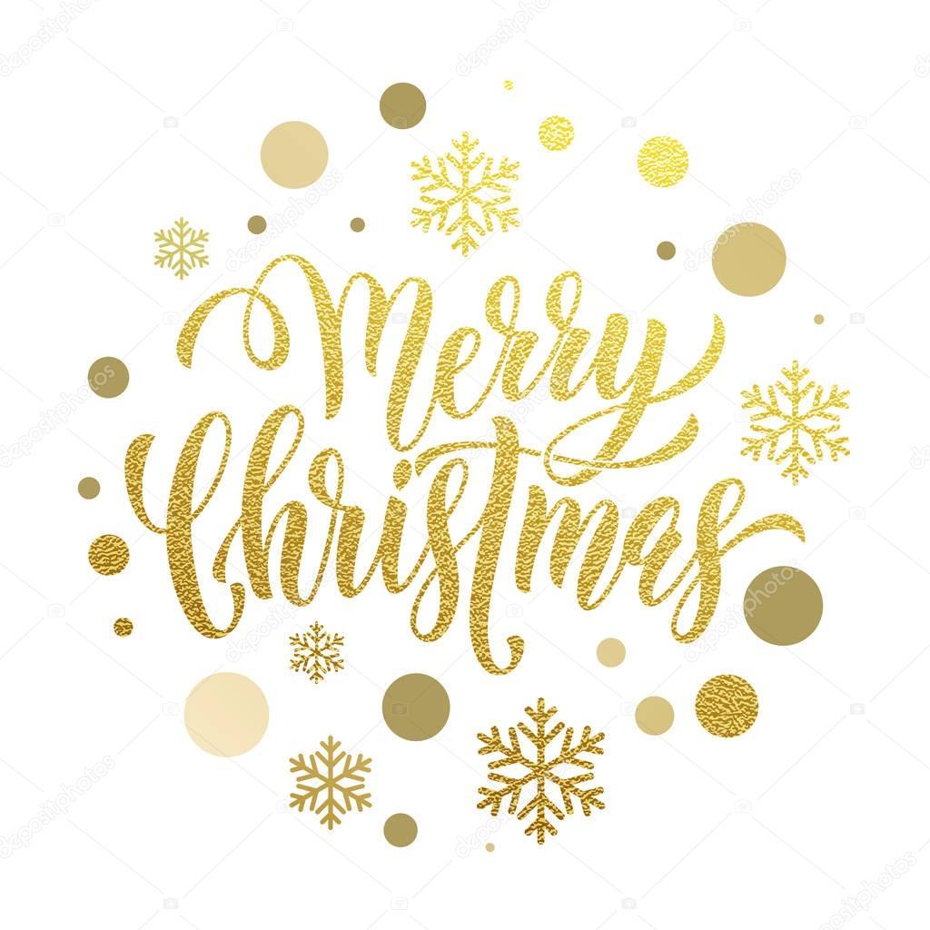 Frohe Weihnachten Gold.Frohe Weihnachten Gold Grußkarte Poster Glitzer Stockvektor