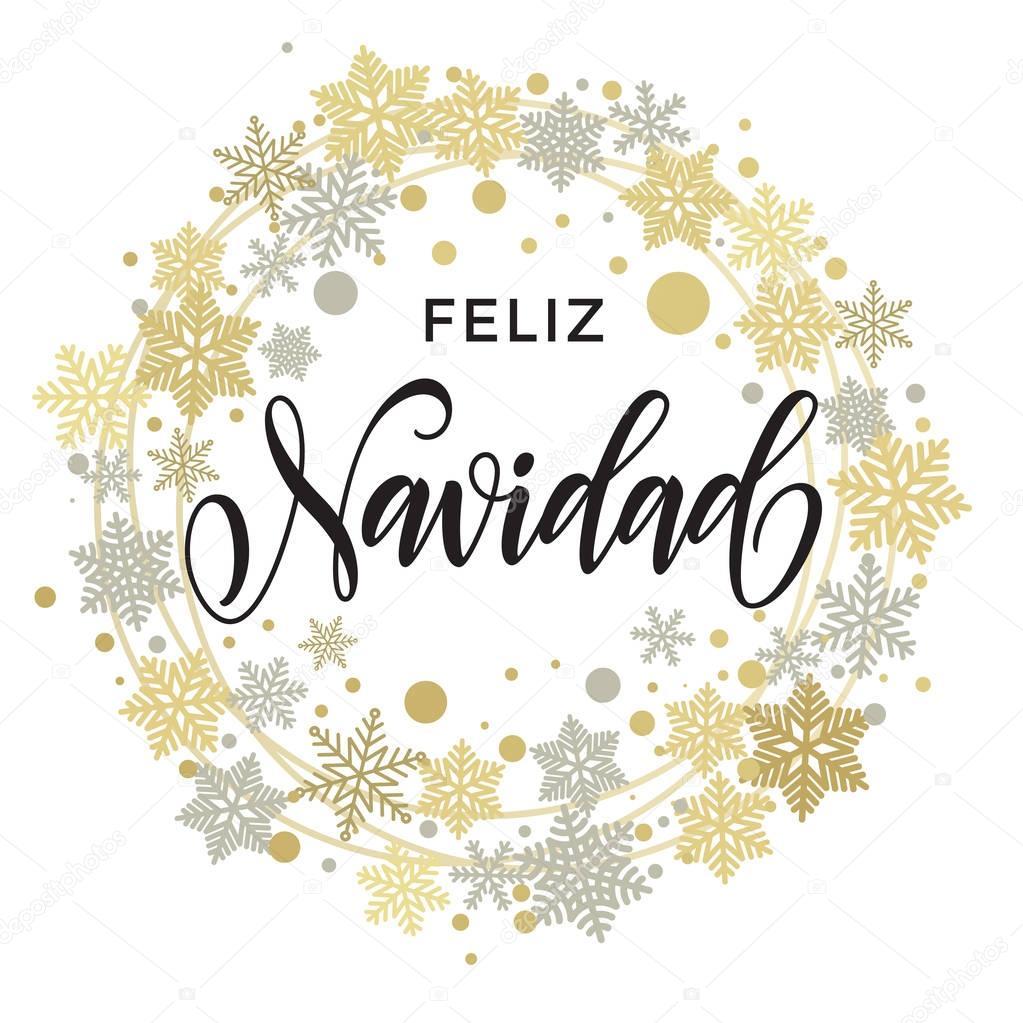 feliz navidad frohe weihnachten spanisch text f r die. Black Bedroom Furniture Sets. Home Design Ideas